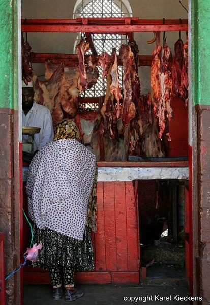 29  Beenhouwerij op de vleesmarkt
