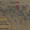Our boat route, Finn Rock Landing to Helfrich Landing