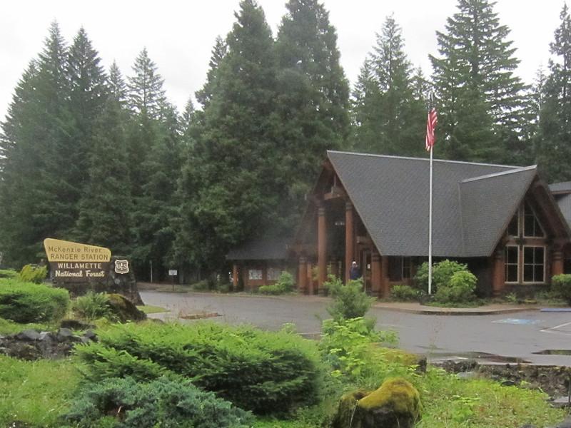 MacKenzie River Ranger Station, WIllamette National Forest