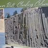 Skinner Butte basalt columns sign