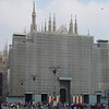 front of the Duomo<br /> under construction until 2007