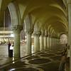 walkway of Palazzo Ducale