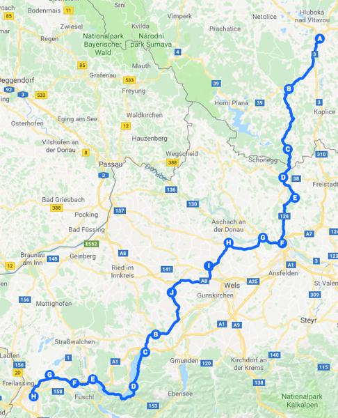 Day 5 to Salzburg