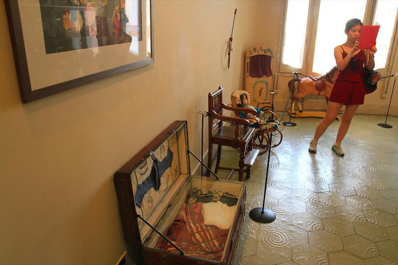 Nursery at La Padrera, Antoni Gaudi architect