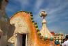 rooftop Casa Batllo by Antoni Gaudi
