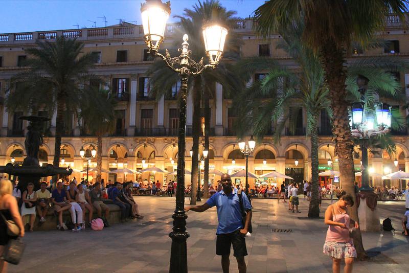 Elusive plaza, we never found it again.