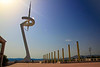 Barcelona Olympic Needle. Communication tower