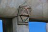 Alpha and Omega at entry of La Segrada Familia - Antoni Gaudi