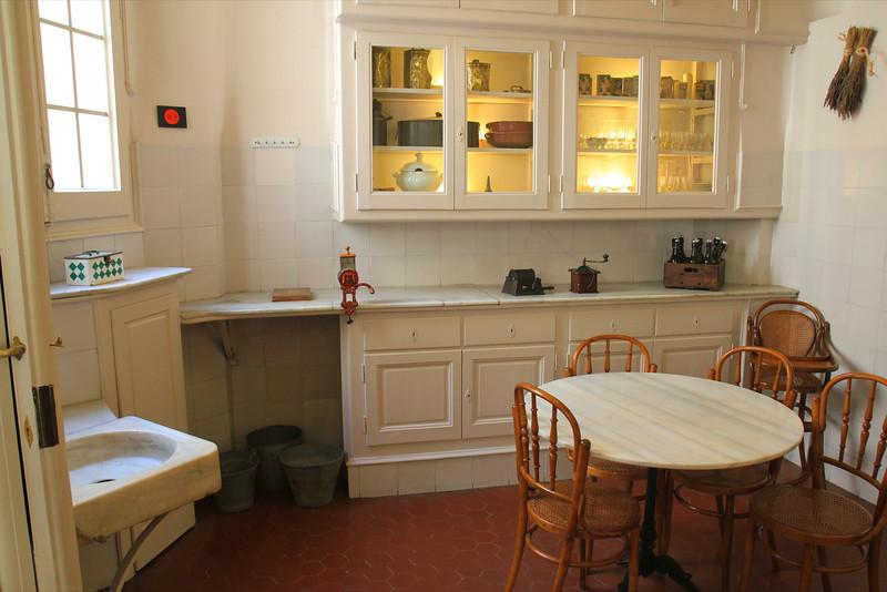 The kitchen at La Padrera, Antoni Gaudi architect