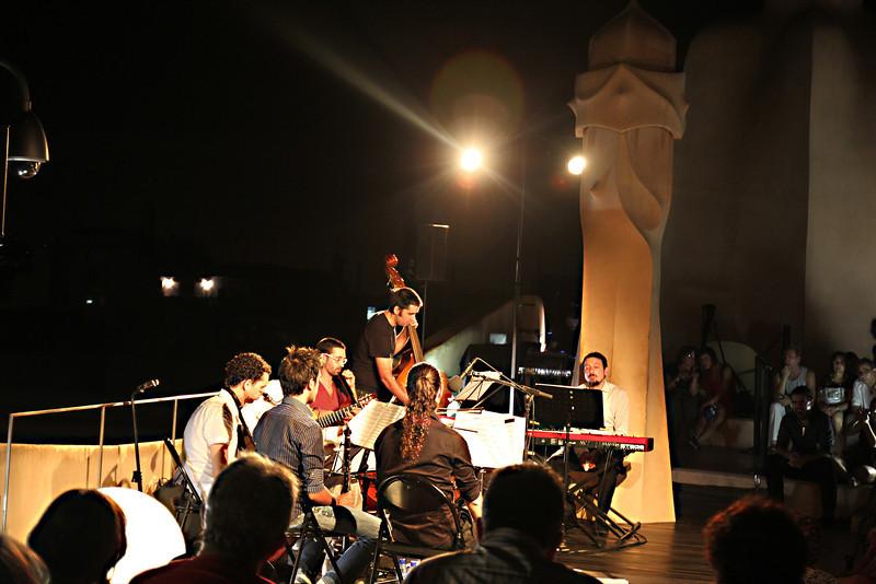 rooftop Jazz at La Padrera