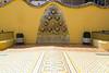 couartyard Casa Batllo by Antoni Gaudi