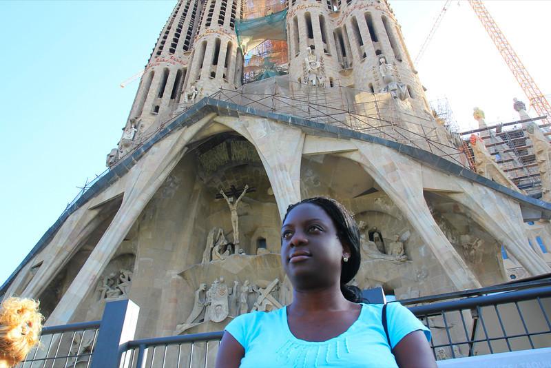 La Segrada Familia - Antoni Gaudi