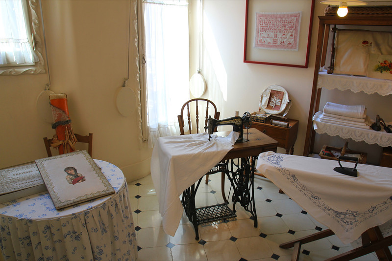 laundry room at La Padrera, Antoni Gaudi architect