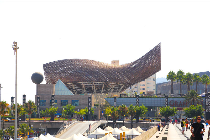 The Fish in Barcelona, by Frank Gehry