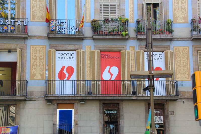 Erotic Musuem Las Ramblas Barcelona