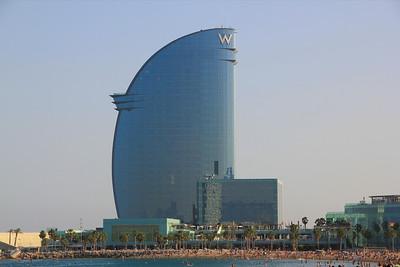 W Hotel Barcelona Beach