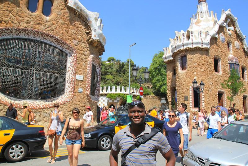 Parc Guell, Antoni Gaudi