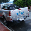 A Tata pickup in Italy!