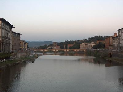 2004-06-11 Florence: city center, duomo, sunset walk