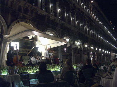 2004-06-14 Venice: Piazza St. Marco, St. Mark Basilica, Gondola Ride, evening/night views