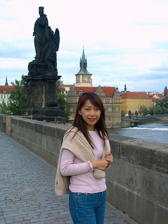 2004-06-16 Prague: Castle, Toy & Barbie Museum, Little Square, Charles Bridge