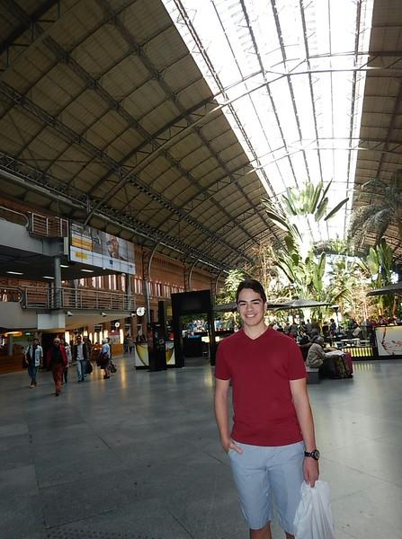 Estación de trenes la Puerta de Atocha