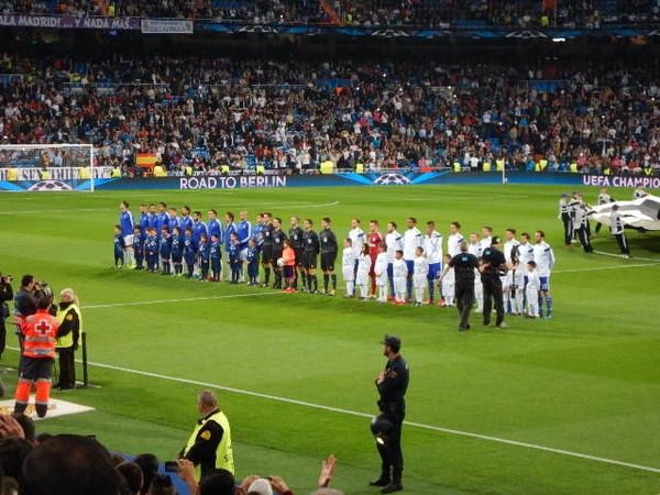 REAL MADRID vs SHALKE04!!!