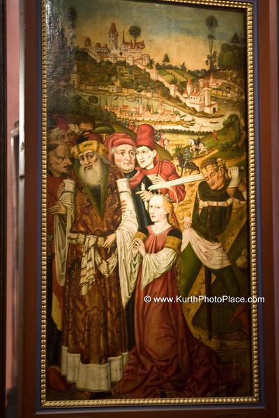 Decapitation of St Catherine