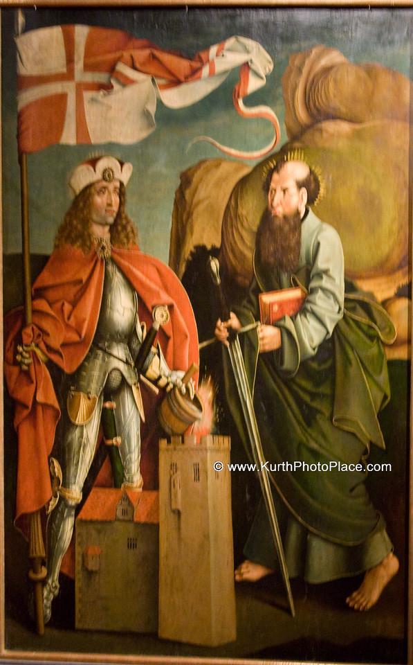 Saint Florian and Saint Paul