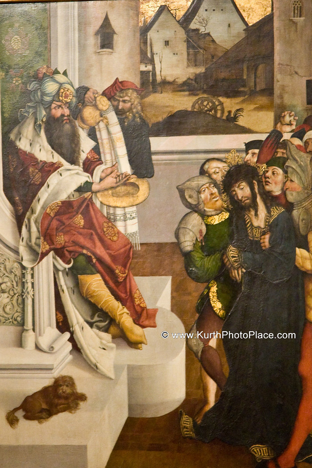 Pontius Pilate washes his hand of guilt