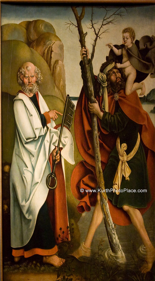Saint Peter and Saint Christopher