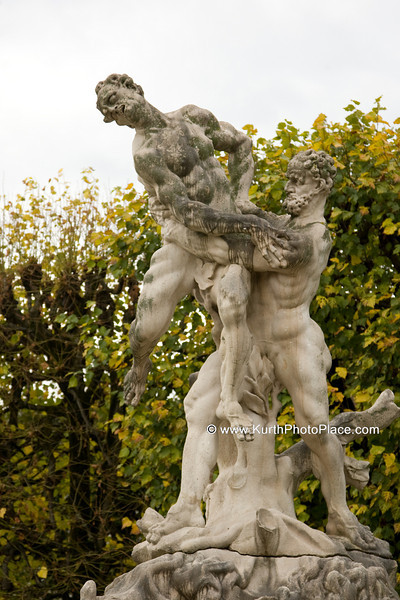 Air (Hercules' battle with Antaeus)