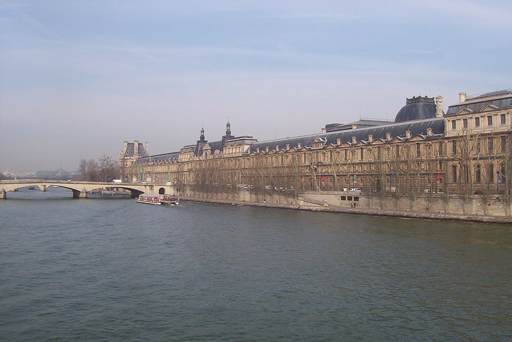 Yup, that's the Louvre, or at least part of it.
