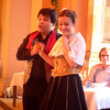 Between courses, we enjoyed classic songs from great opera composers such as Pucini and Verdi.