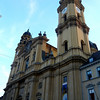 Odeonsplatz is surrounded by beautiful buildings like this one, the Theatiner Kirche, my favorite church in Munich.