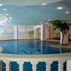 Here's a look at the indoor swimming pool...