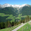 We followed a path that led to the Niederhofer Alm...