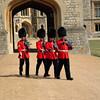 Windsor Castle guard detail