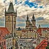 Prague Square atop the U Prince