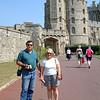 Windsor Castle, outside of London.