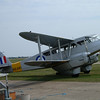 Dragon Rapide at Duxford air base