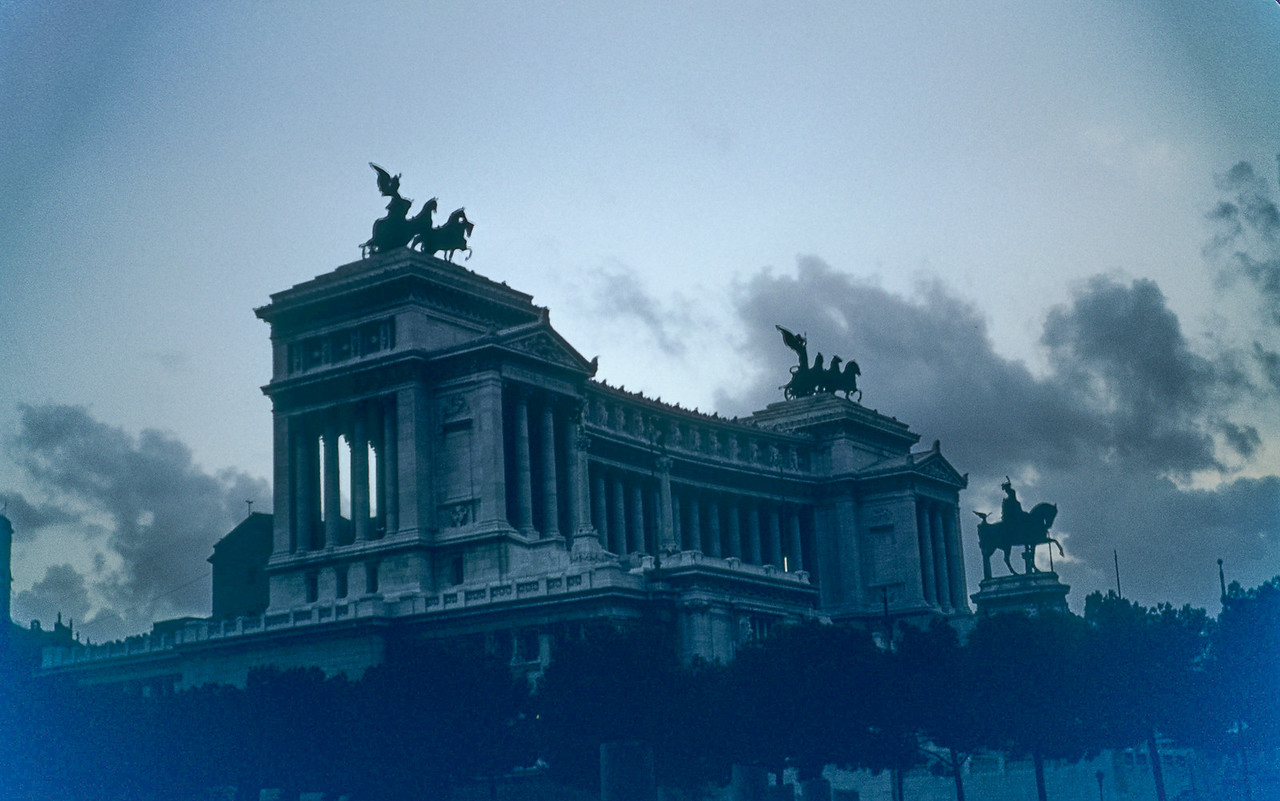 The Monument to  Victori Emanuele, Rome