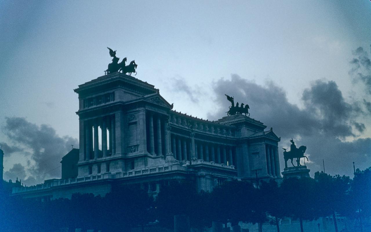 The Monument to  Victori Emanuele, Rome
