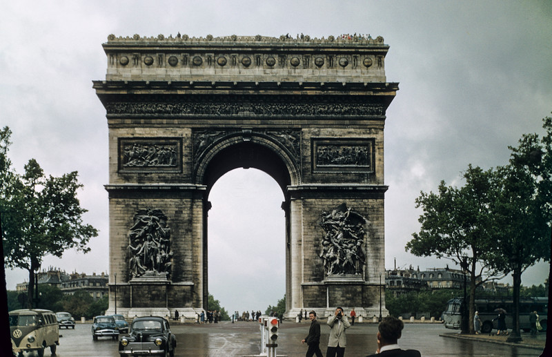 Arc de Triomphe at the Place Charles de Gaulle