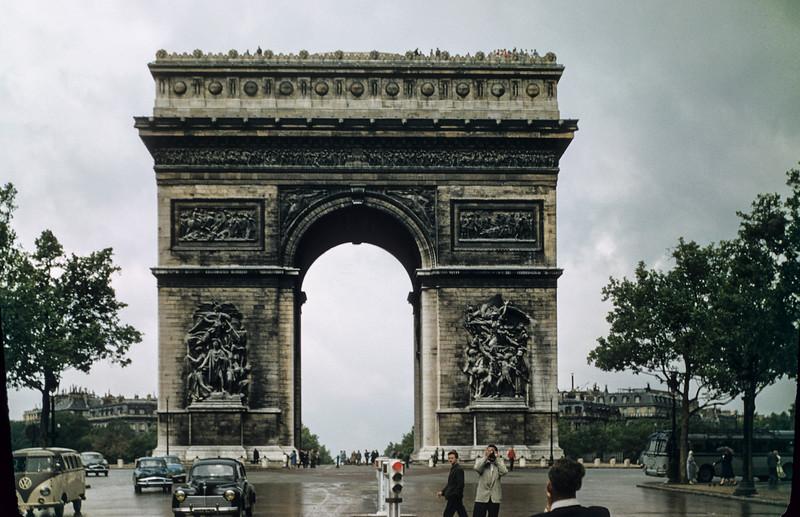 Arc de Triomphe at the Place Charles de Gaulle