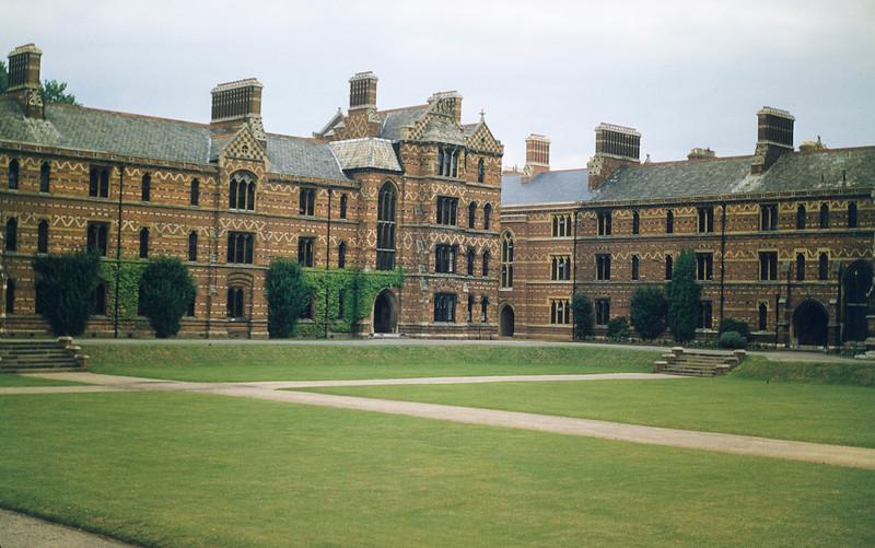 An Oxford College, perhaps Christ Church