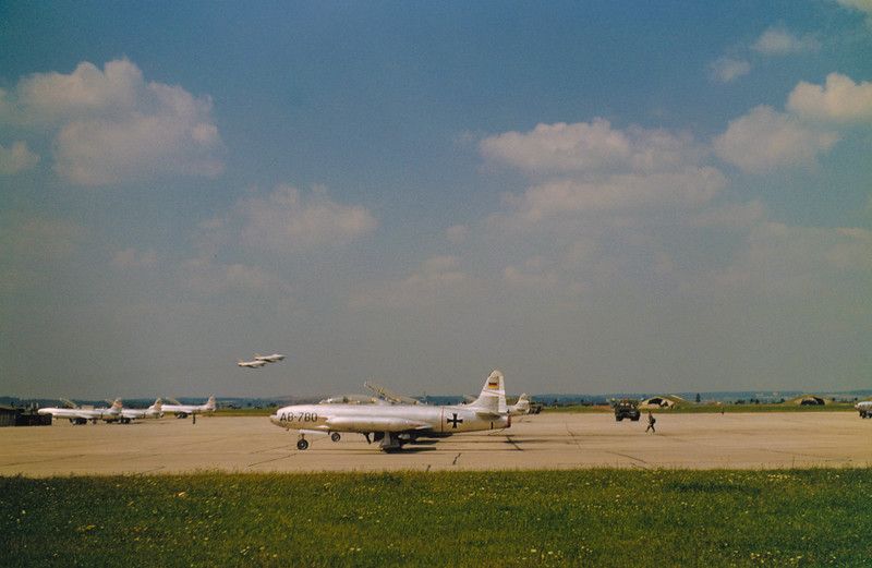 Planes of the new German Airforce,