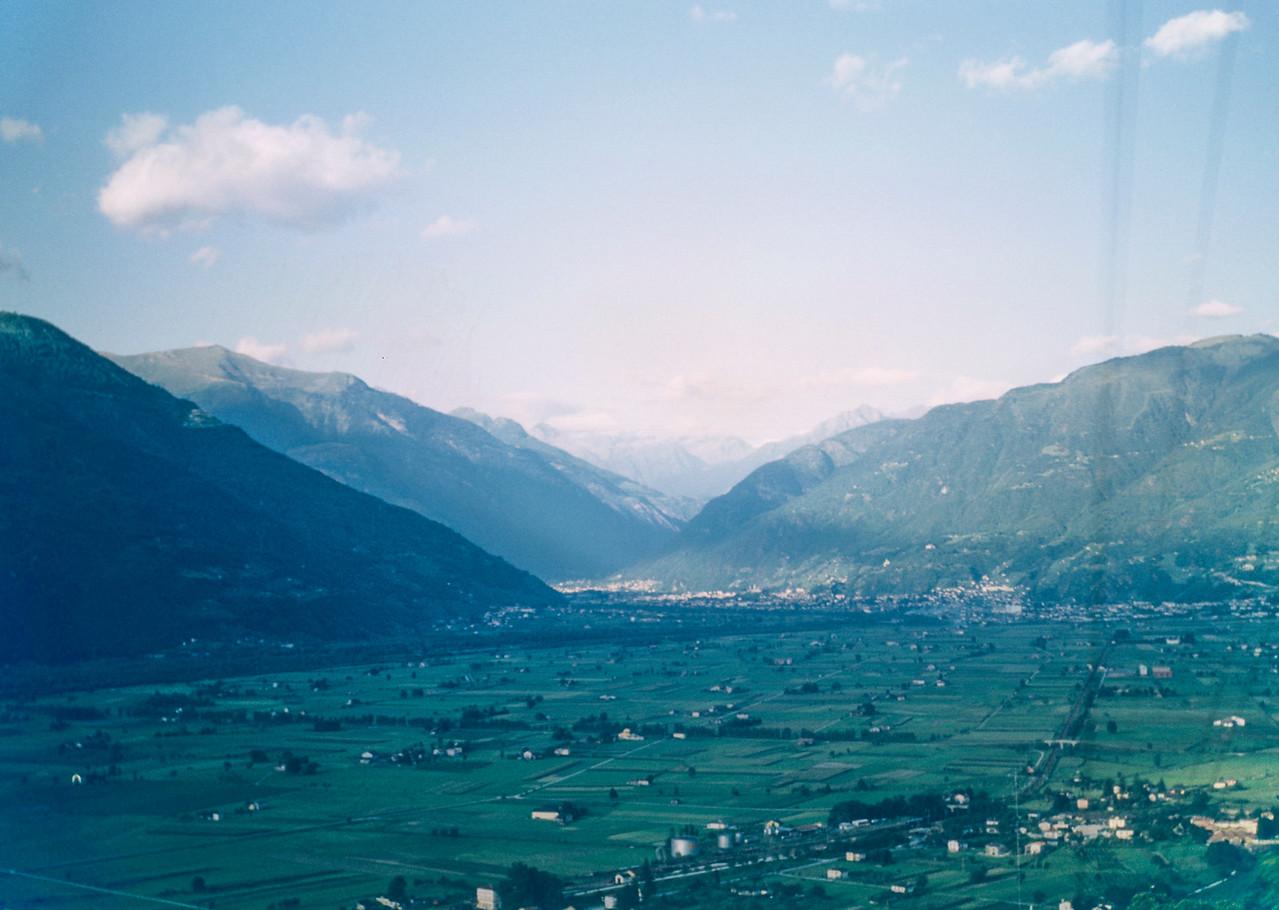 Approaching Switzerland