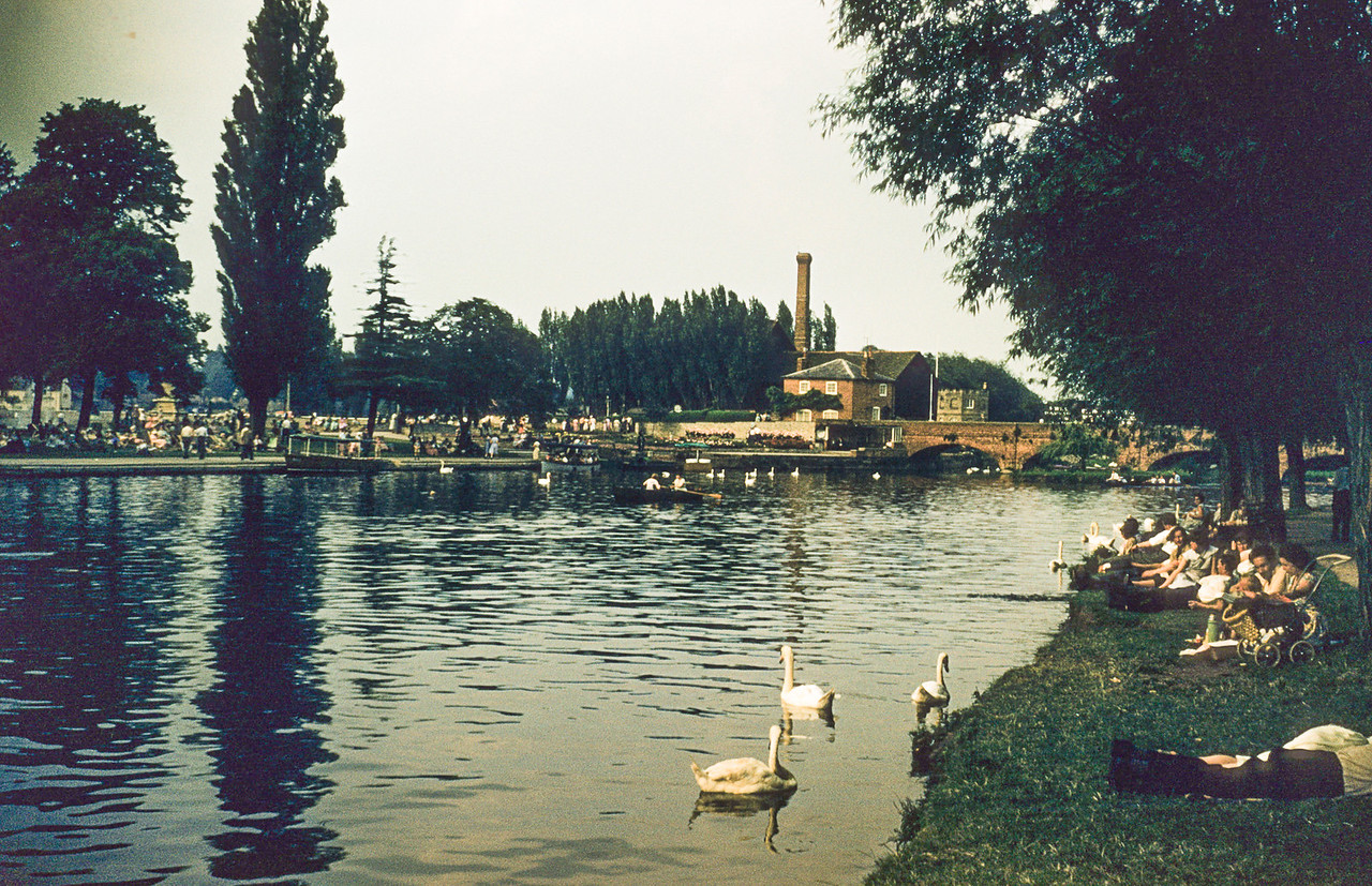 Avon River, Stratford, England