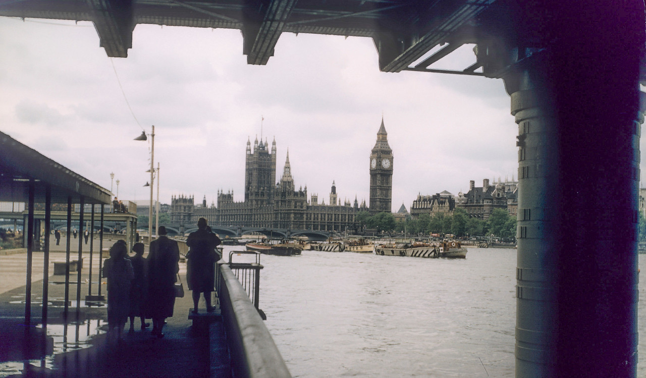 From Thames cruise, Big Ben and Houses of Parliament